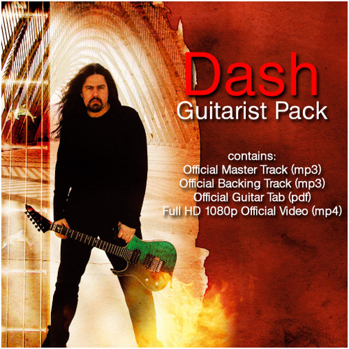 Product picture Dash - Guitarist Pack (Tab+Backing Track+Video)