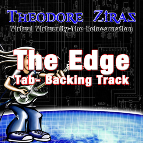 Product picture Theodore Ziras-The Edge Official Tab+Backing Track