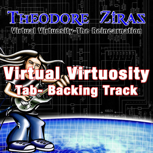 Product picture Theodore Ziras-Virtual Virtuosity Tab+Backing Track